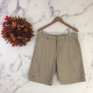 Lacoste Classic Fit Twill Chino Shorts